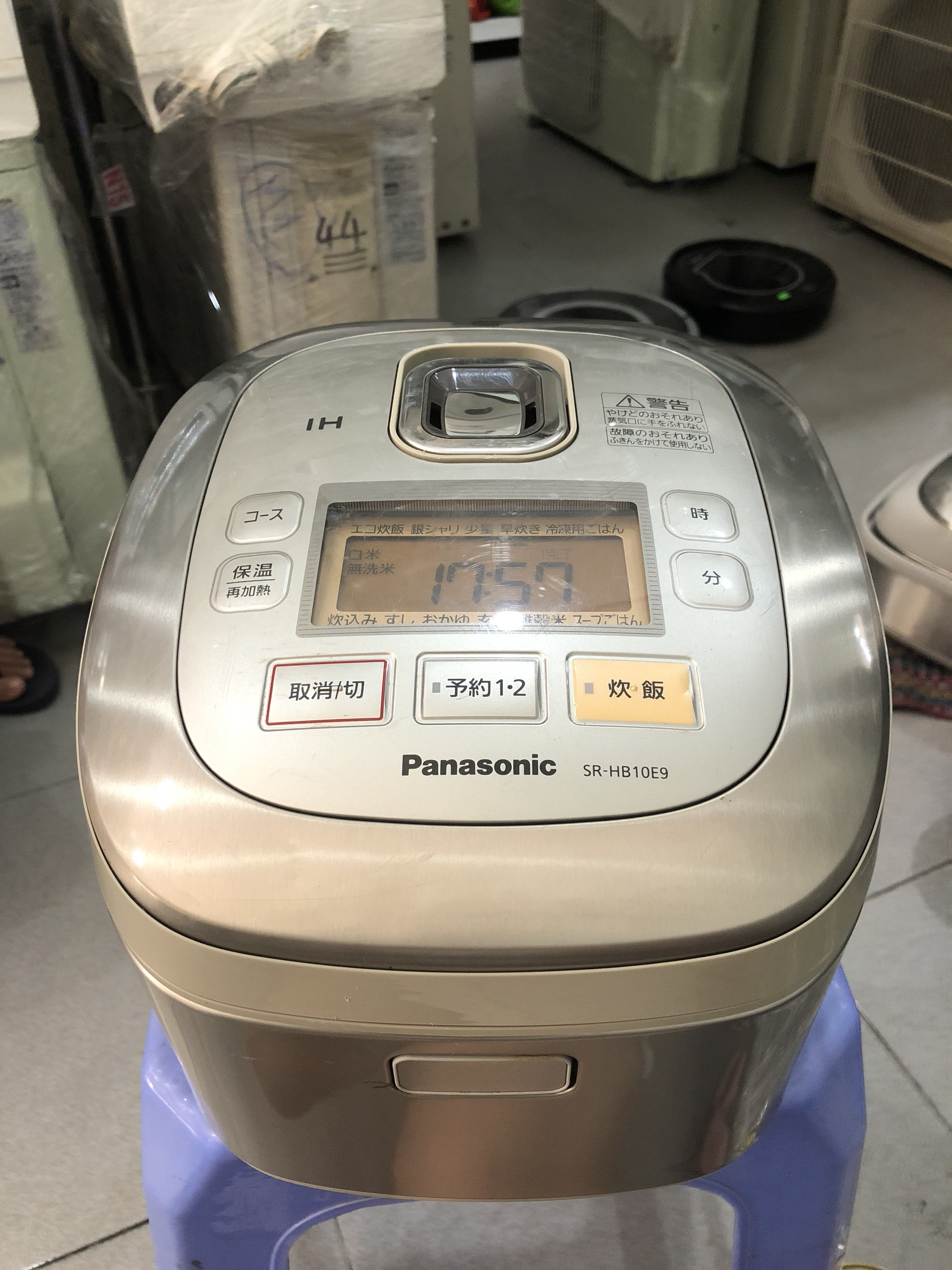 NỒI CƠM ĐIỆN PANASONIC SR-HB10E9